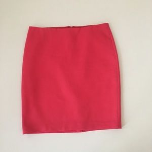 Talbots Coral Pencil Skirt Size 16